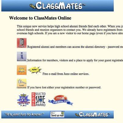 ClassMates - Primeira rede social