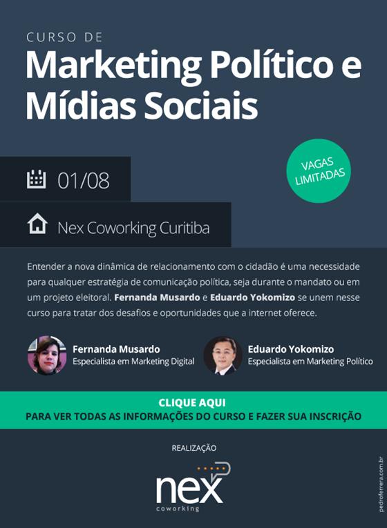Curso de Marketing Político e Mídias Sociais
