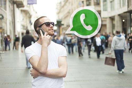 chamadas com whatsapp