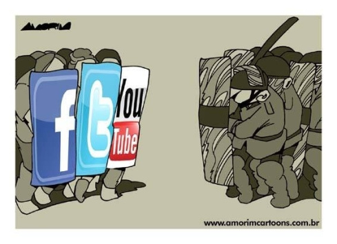 Redes sociais nos protestos contra corrupção